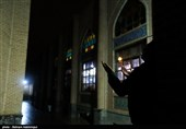 اردبیل| لطافت عارفانه اعتکاف در ساعات پایانی سال به روایت تصویر