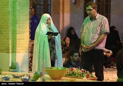 مراسم تحویل سال نو در جوار مزار شهدای گمنام - کیش