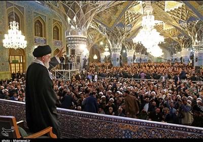الإمام الخامنئی:العام الجدید هو عام الفرص..سنستمر فی تقویة البنیة الدفاعیة