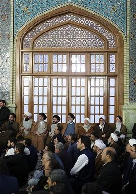 خطاب الإمام الخامنئی فی العتبة الرضویة المقدسة