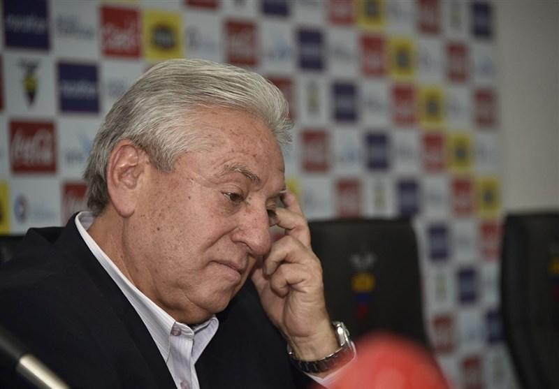 فوتبال جهان  محرومیت مادامالعمر رئیس پیشین فدراسیون فوتبال اکوادور