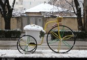 بهار 98| بارش برف بهاری در بجنورد به روایت تصویر