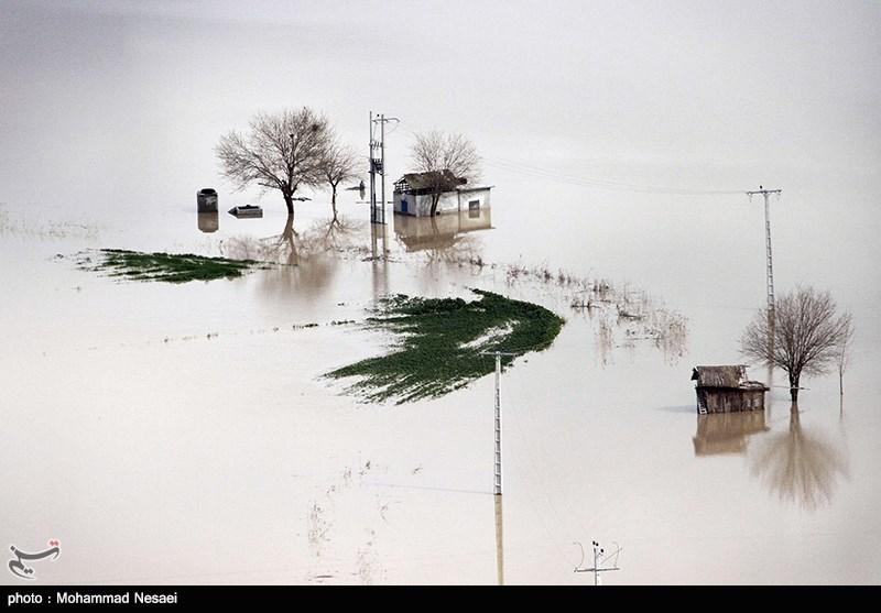 250 هزار هکتار از اراضی کشاورزی استان گستان آسیب دید