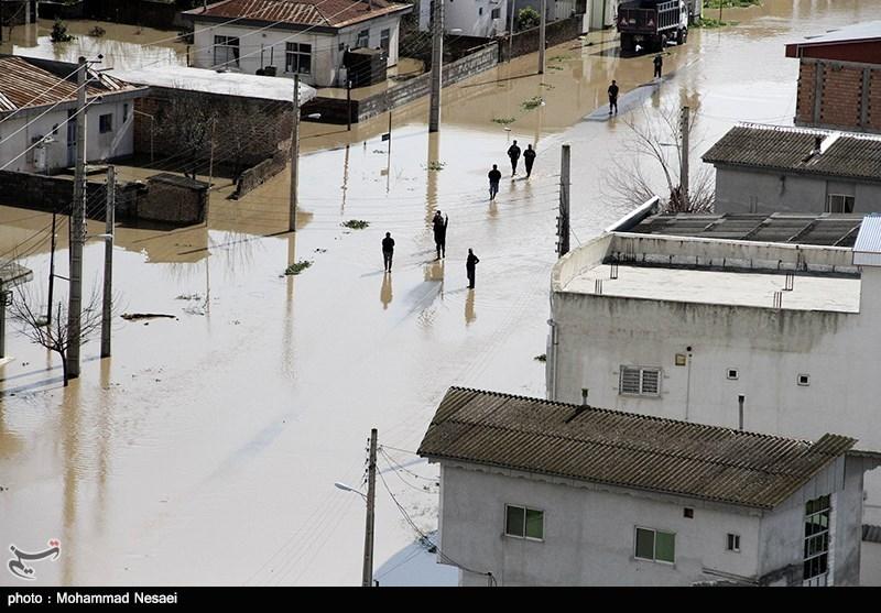 بیش از 10 هزار واحد مسکونی براثر طوفان و سیل در گلستان خسارت دید