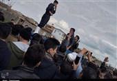 سردار آزمون به کمک سیلزدگان گلستانی رفت + فیلم