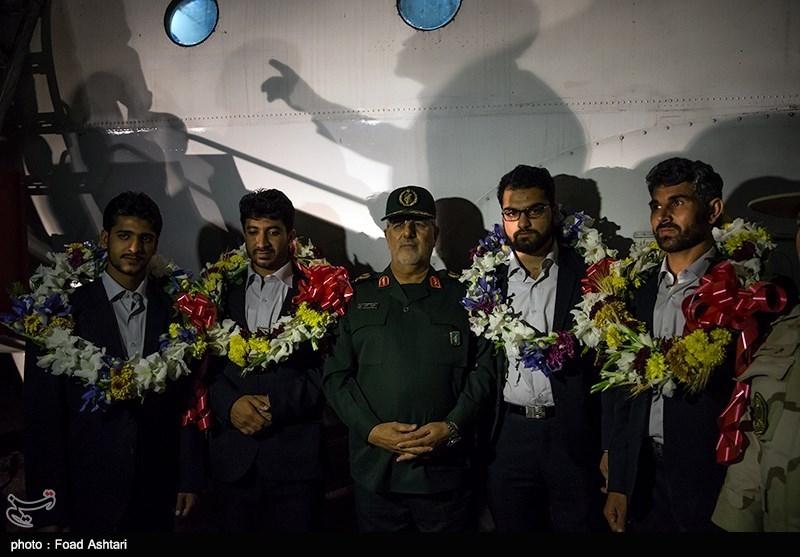 بازگشت 4 مرزبان ربوده شده در مرز میرجاوه به کشور