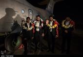 4 مرزبان ربودهشده به کشور بازگشتند + عکس