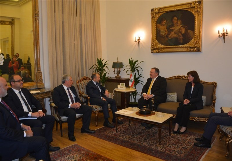 در دیدار وزیر خارجه لبنان و پامپئو چه گذشت؟