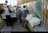 حضور 250 نفر از جهادگران بنیاد برکت احسان در مناطق سیلزده شمالی