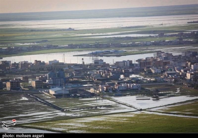 فیلم هوایی از وضعیت شهر سیلزده آققلا