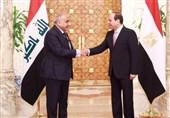 دیدار عبدالمهدی با السیسی در قاهره + تصاویر