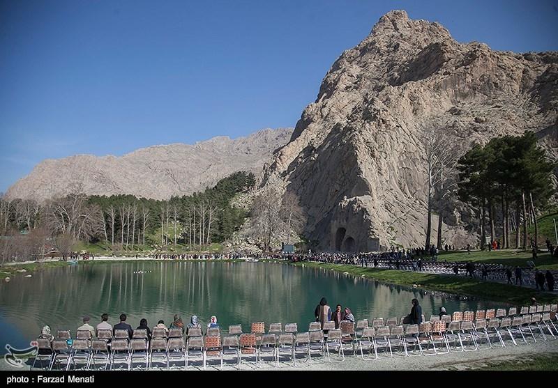 وقتی بوستان شرقی طاقبستان کرمانشاه به آرامستان تبدیل میشود / برخورد قاطع دستگاه قضا با مسئولان خاطی