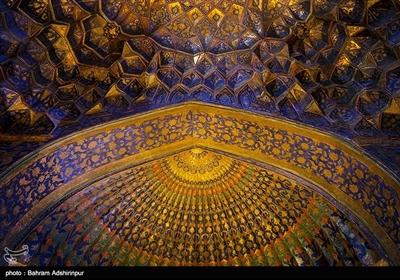 شکوه هنر ایرانی-اسلامی تزئینات بقعه شیخ صفی الدین اردبیلی