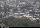 کرمان| تصاویر هوایی باغ شهر گردشگری و تاریخی بم