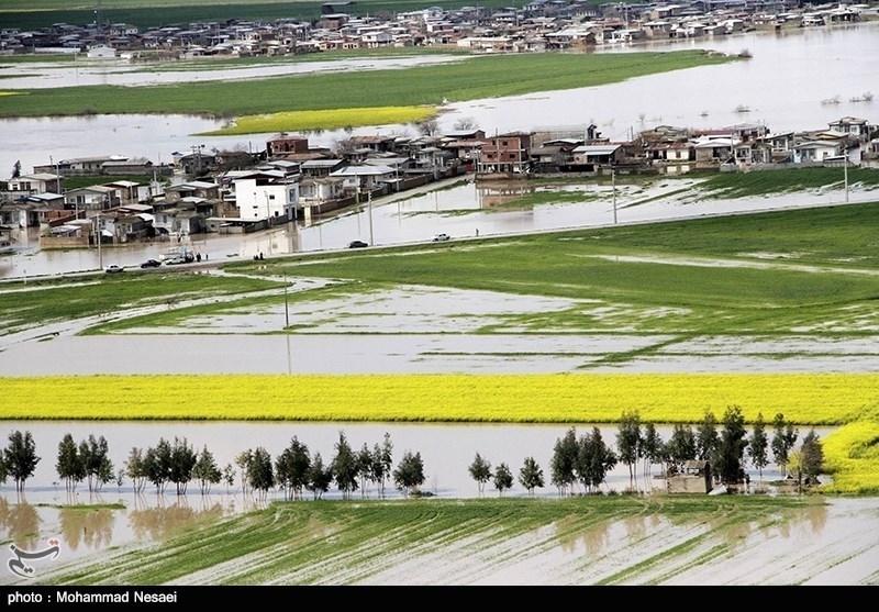 سیل 1640 میلیارد تومان به کشاورزی گلستان و مازندران خسارت زد