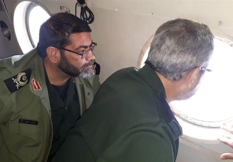 سردار غیبپرور از مناطق سیلزده استان گلستان بازدید کرد