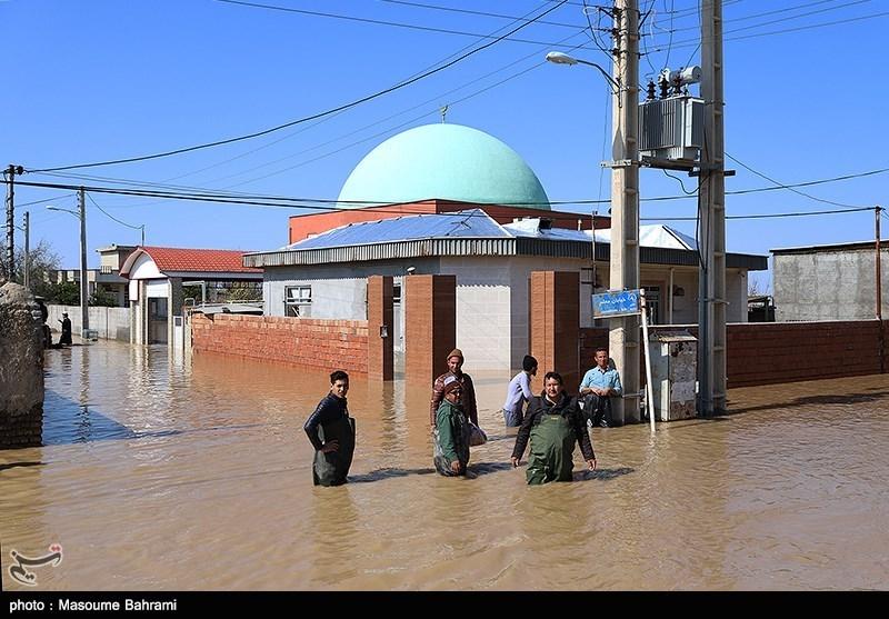 256 مدرسه استان گلستان دچار آبگرفتگی شده است