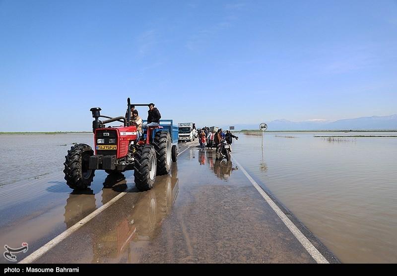 2 جاده در خراسان رضوی به دلیل سیلاب مسدود شد
