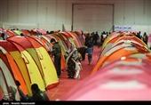 گزارش تسنیم از اسکان مردم سیلزده در نمایشگاه بینالمللی گلستان + فیلم