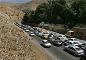 ترافیک در محورهای ارتباطی بوشهر نیمهسنگین است