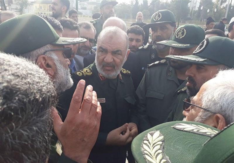 حضور جانشین فرمانده کل سپاه در مناطق سیلزده گلستان + فیلم