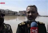 سردار غیب پرور: اولویت ما در مناطق سیلزده حفظ جان مردم است