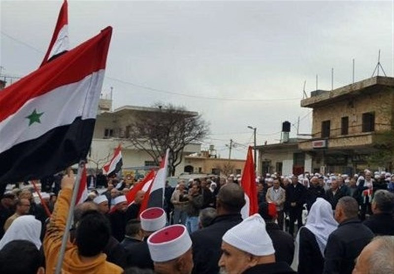 واکنش شخصیتهای سوری به اظهارات ترامپ/ تظاهرات ساکنان جولان اشغالی در محکومیت آمریکا