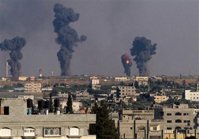 الکیان الصهیونی یقصف مواقع عدة للمقاومة ومقر هنیة فی قطاع غزة