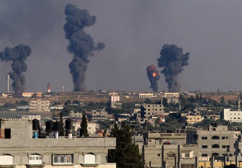 حمله رژیم صهیونیستی به مواضع مقاومت در نوار غزه