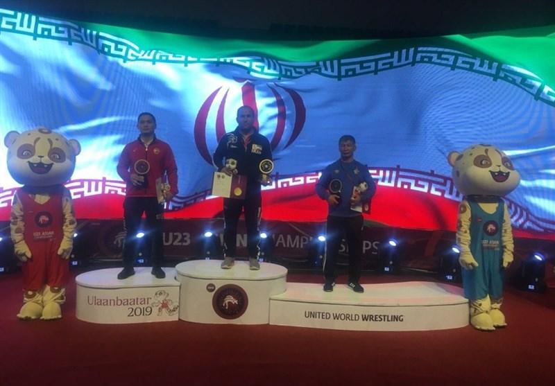 رقابتهای کشتی آزاد زیر 23 سال آسیا| قهرمانی ایران با کسب 4 مدال طلا، 3 نقره و 2 برنز