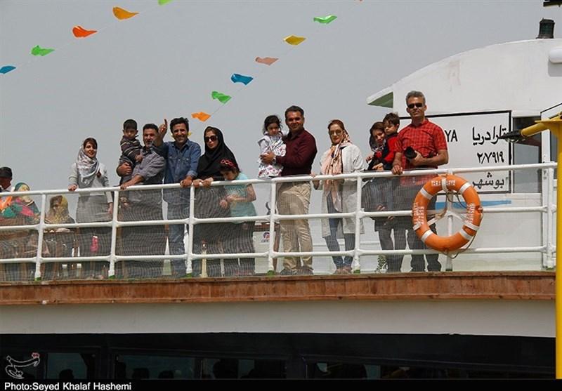 ظرفیت جابهجایی گردشگران دریایی در بندر بوشهر افزایش یافت