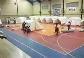150 اماکن ورزشی در اختیار مدیریت بحران استان بوشهر قرار گرفت