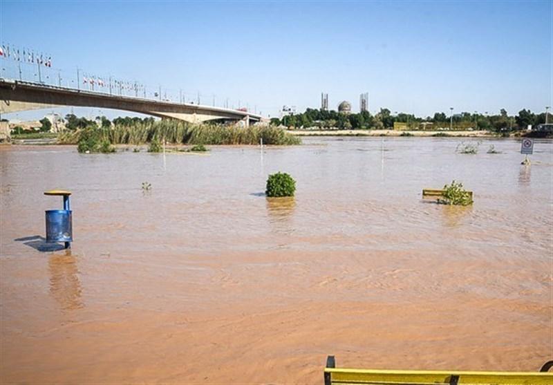 هشدار افزایش بی سابقه میزان آب رودخانه کارون
