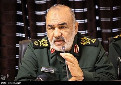 IRGC Chief: Middle East A Potential Field of Fire for US