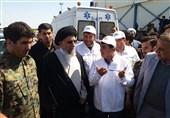 بازدید مدیرعامل صنایع شیر ایران از کمپ اسکان سیلزدگان استان گلستان