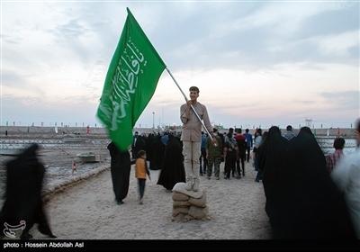ایران کے صوبے خوزستان میں کاروان راہیان نور کی تصویری رپورٹ