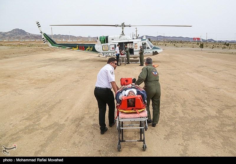 دانشگاه علوم پزشکی زاهدان برای خدمات هوایی به سیلزدگان سیستان آماده است