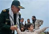 بازدید سردار سلیمانی از نحوه خدمت رسانی به زائران راهیان نور +عکس