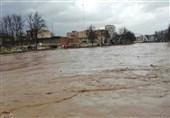 فیلم اختصاصی از سیلاب ناگهانی در شیراز