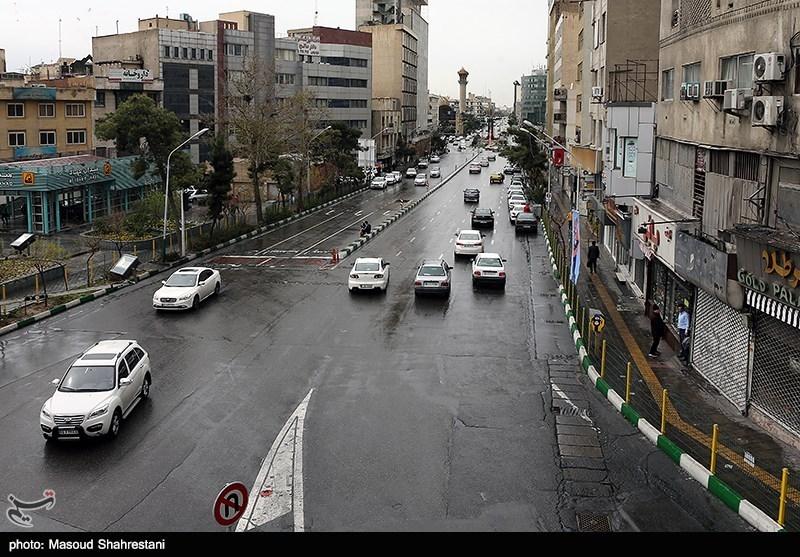 ممنوعیت ترافیکی در معابر تهران وجود ندارد/تردد در مسیر بزرگراه امام علی(ع)