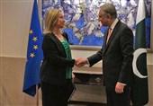 شاہ محمود سے یورپی یونین کی خارجہ امور کی سربراہ کی ملاقات