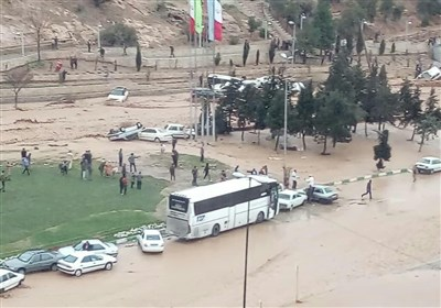 اختصاصی| استاندار فارس: حجم زیاد بارندگی سبب سیلاب در برخی از مناطق شیراز شد+فیلم