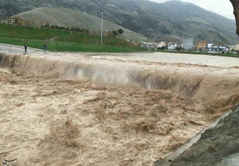 خط انتقال آب شرب 60 روستای لرستان خسارت دید؛ تخریب ابنیه و راهها