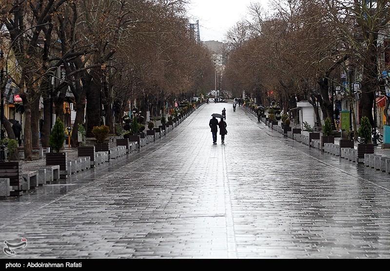 بارشهای پراکنده بهاری میهمان آخر هفته اصفهان؛ توده بارشی سیلآسا استان را ترک کرد