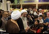 بازدید نماینده ولی فقیه در استان بوشهر از کمپ اسکان مسافران+تصاویر