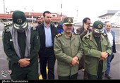 IRGC Commander Visits Flood-Hit Areas North of Iran