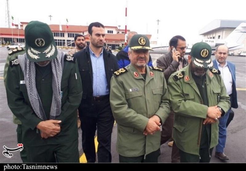 IRGC Commander Visits Flood-Hit Areas North of Iran