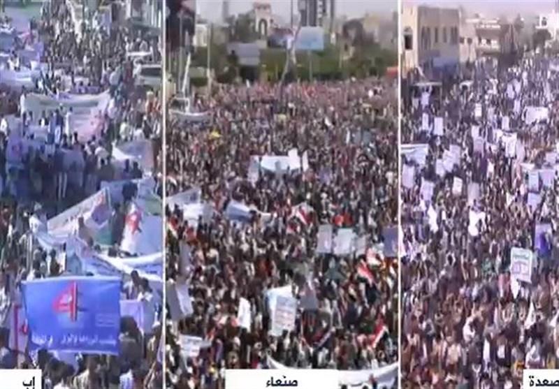 پیام راهپیمایی میلیونی امروز یمنیها به عربستان/ الحوثی: ملت یمن پیروز خواهند شد