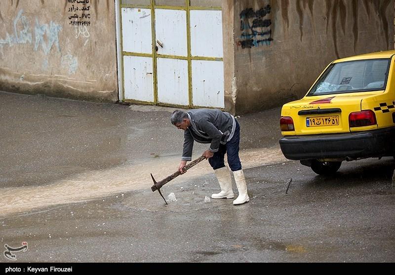 وجود بارشهای شدیدتر در 6 شهرستان استان مرکزی
