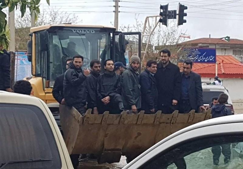 بازدید رئیس ستاد اجرایی فرمان امام از آققلا در جامِ لودر